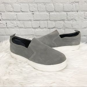 Circus by Sam Edelman Scotlyn Gray Suede Sneakers